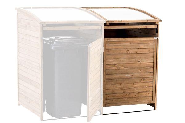 Mülltonnenbox-Erweiterung SX240, natura