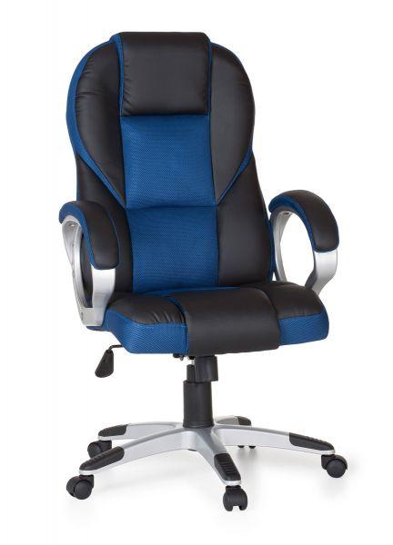 Bürostuhl RACE Gaming Chefsessel mit Armlehne Racer, Blau