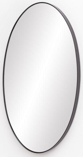 Wandspiegel MELI Spiegel mit Rahmen Flurspiegel Groß Anthrazit 45x80x4 cm