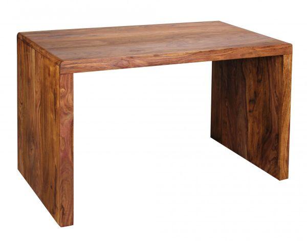 Sheesham Schreibtisch, Computertisch, Massiv-Holz, 120 cm breit