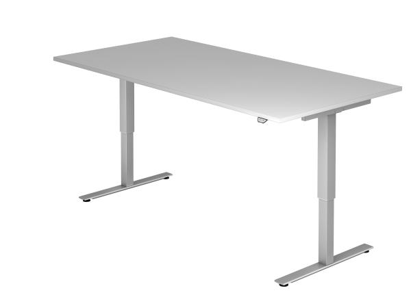 Sitz-Steh-Schreibtisch elektrisch 200X100cm Grau
