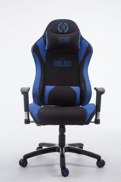 Racing Bürostuhl Shift V2 Stoff, schwarz/blau