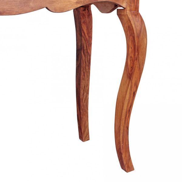 Konsolentisch OPIUM Massivholz Sheesham Konsole mit 1 Schublade 100 x 40 cm