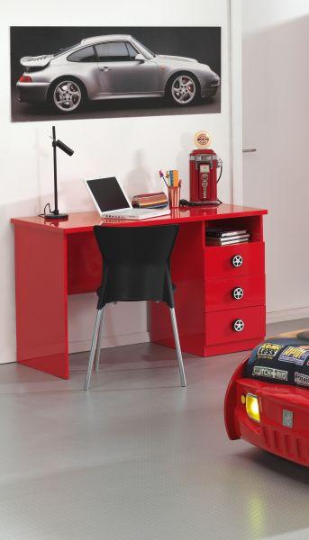 Schreibtisch Monza Rot