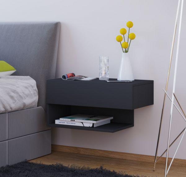 Nachttisch Dormal Maxi Schwarz Vcm Möbel Günstiger Kaufen Dito24