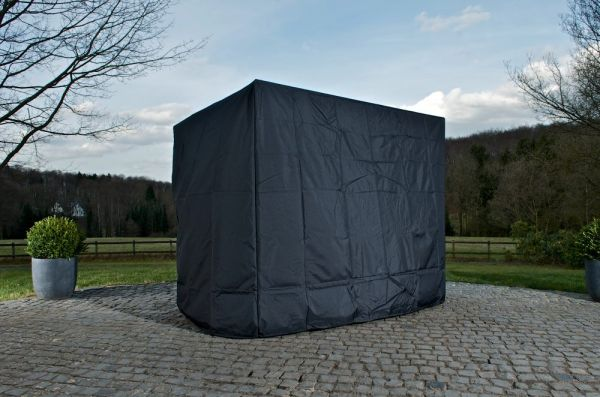 Abdeckhaube 180x150x180, schwarz