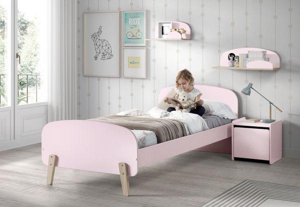 Kiddy Nachtschrank mit 1 Tür rosa