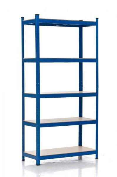 Steckregal 90x40x200, blau