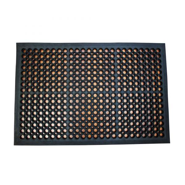 Anti-Ermüdungsmatte, 80 x 120 cm, schwarz