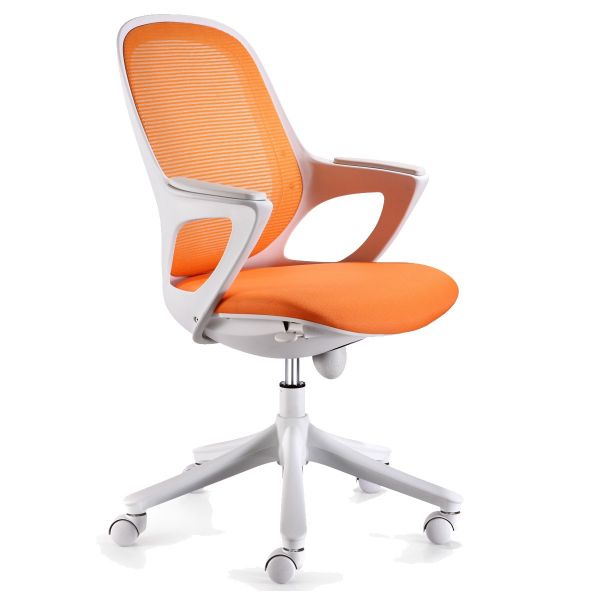 MAGLO Bürostuhl, Schreibtischstuhl, Orange