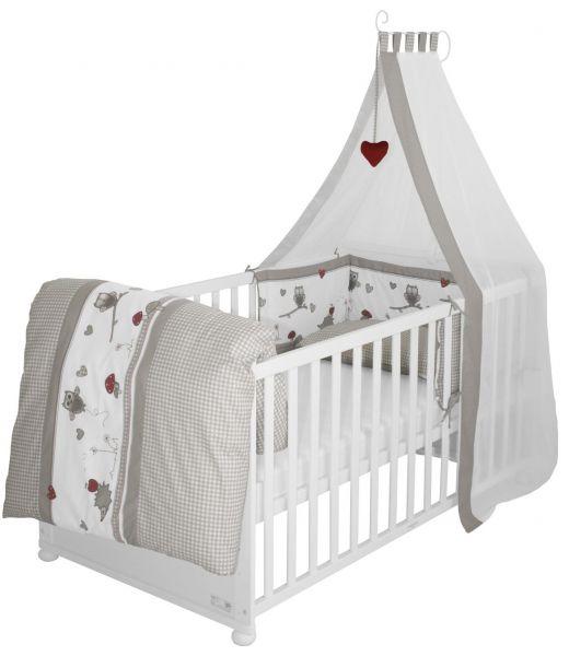 Kombi-Kinderbettset 'Adam & Eule'