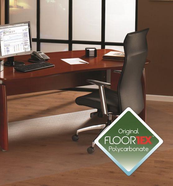 Bodenschutzmatte, 180 x 200 cm, rechteckig, transparent