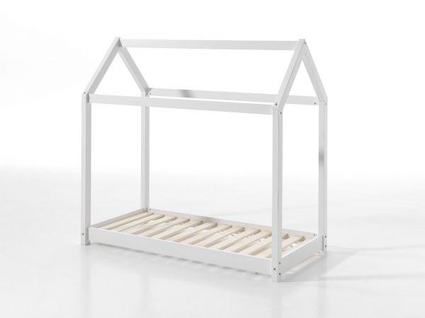 Cabane Hausbett Liegefläche 70 x 140 cm, Weiß