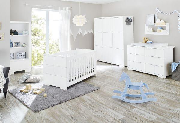 Kinderzimmer 'Polar' extrabreit groß, weiß
