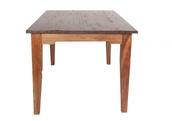 Tisch 90 x 180 cm, recyceltes Teakholz massiv, natur