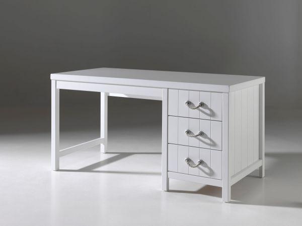 Schreibtisch Lewis, Weiß