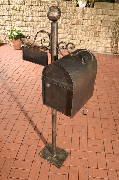 Briefkasten Charlize, bronze