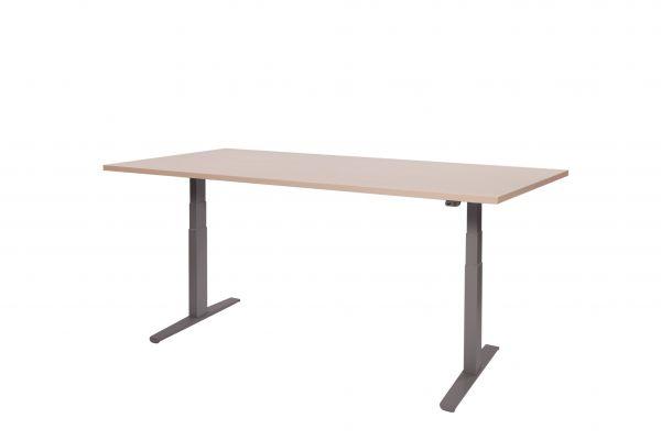 dsm elektrisch verstellbarer schreibtisch 180x80cm schreibtische elektrisch b rom bel dito24. Black Bedroom Furniture Sets. Home Design Ideas