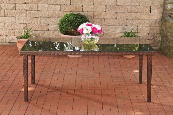 Tisch Florenz BIG, braun-meliert