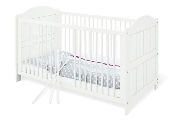 Kinderbett 'Nina', weiß