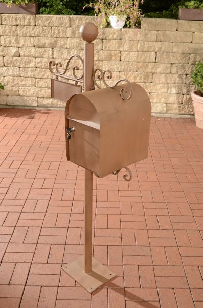 Briefkasten Charlize, antik braun