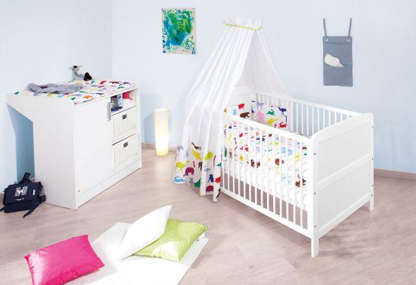 Kinderzimmer Sparset 'Viktoria', weiß