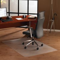 Bodenschutzmatte, 120 x 130 cm, rechteckig, transparent