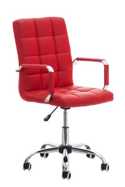 Bürostuhl Deli V2, rot