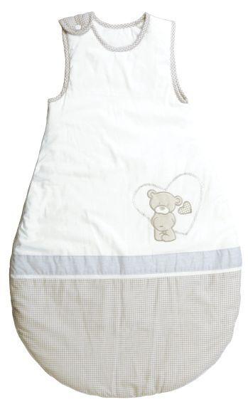 Schlafsack 'Liebhabär' 70cm weiß