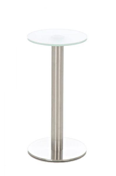 Stehtisch Glastisch Marida, milchglas