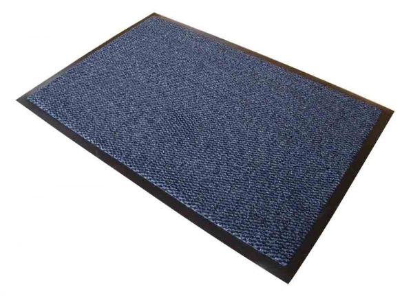 Schmutzfangmatte, 60 x 90 cm, blau/schwarz meliert